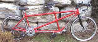 Longbikes 300RS Red