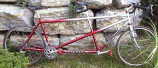Longbikes 300RS Silver to Red Fade